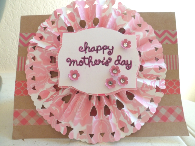 Mother's Day Card from bumblebreeblog