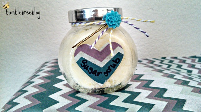 Sugar Scrub from bumblebreeblog.wordpress.com