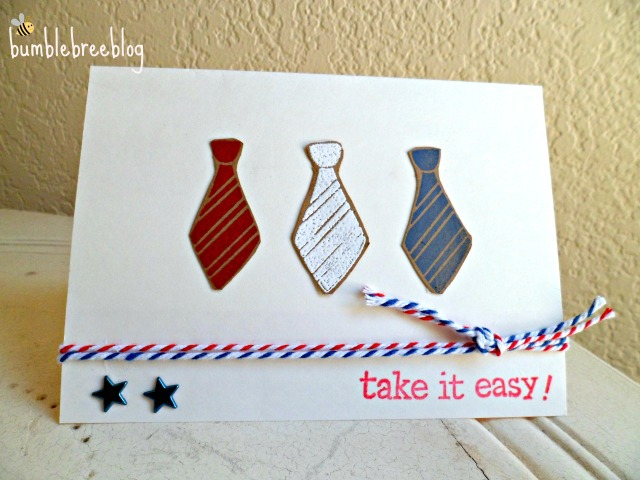 Take it Easy Card for OWH from bumblebreeblog