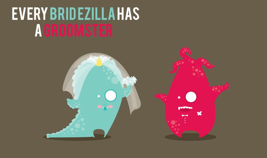 Bridezilla And Groomster By ConejitoPerverso