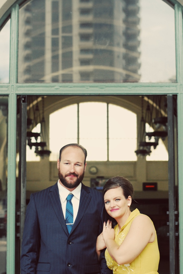 Mad men Themed Engagement photo shoot -San Diego