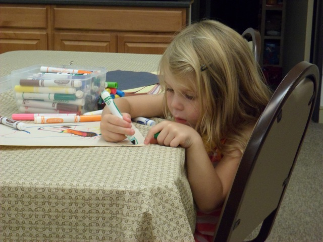 busy coloring