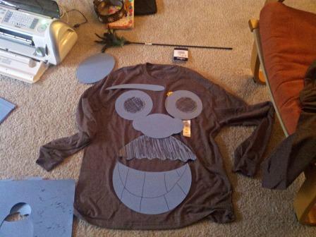 Halloween Costume Templete