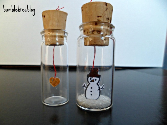 Cute little surprise vials from bumblebreeblog.  #vials are from #pickyourplum. Perfect and easy to make.
